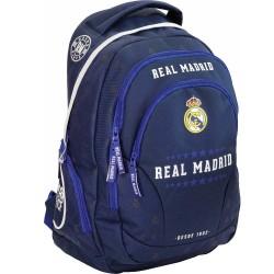 Sac à dos Real Madrid Blue 45 CM Haut de Gamme - 2 Cpt