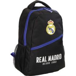 Mochila Negro Real Madrid 43 CM