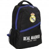 Mochila negra Real Madrid azul 43 CM