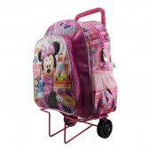 Minnie Traveler wheeled travelbag rose 40 CM high - Binder