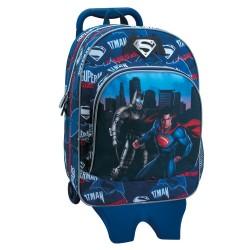 Sac à roulettes Batman Vs Superman 40 CM Haut de Gamme - Cartable