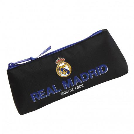 Trousse plate Real Madrid Black 21 CM