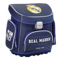 Cartable rigide Real Madrid Blue 38 CM Haut de Gamme