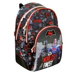 Batman Vs Superman 44 CM World - 2 Cpt backpack