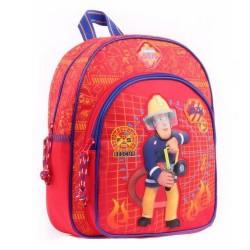 Sac à dos Sam le pompier maternelle 31 CM - Cartable