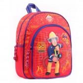 Sac à dos Sam le pompier  maternelle 31 CM