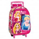 Sac à dos à roulettes maternelle Princesse Disney Stars 37 CM trolley - Cartable