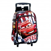 Sac à dos à roulettes maternelle Cars Disney Speed 37 CM trolley - Cartable