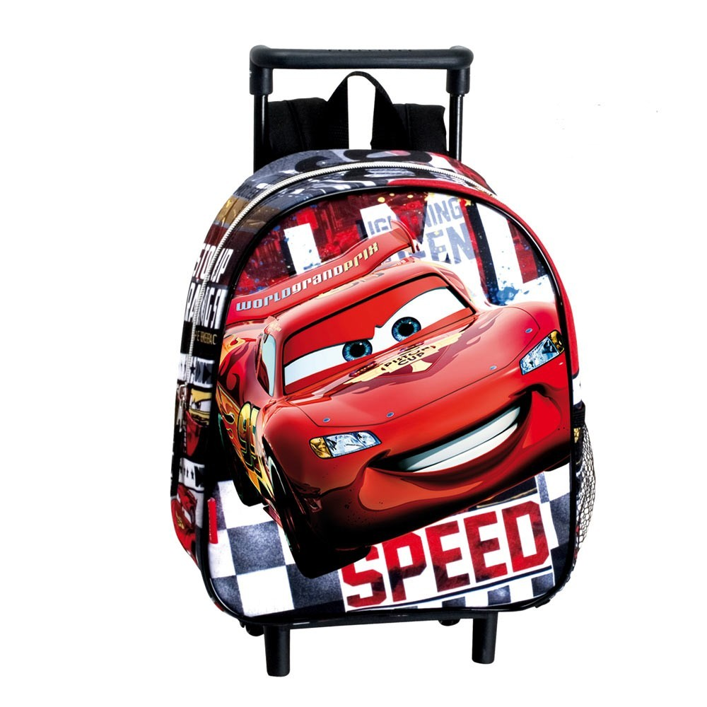 sac dos roulettes maternelle cars disney speed 28 cm trolley. Black Bedroom Furniture Sets. Home Design Ideas