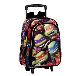 Rolling Backpack Ninja Turtle 37 CM - Premium Trolley