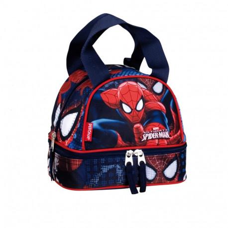 Sac goûter isotherme  Spiderman Eyes