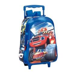 Sac à dos à roulettes maternelle Blaze Jump 37 CM trolley - Cartable
