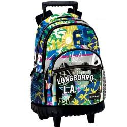 Backpack with wheels Longboard Street 46 CM trolley premium - Binder