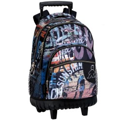 Backpack skateboard Beach 46 CM trolley premium - Binder