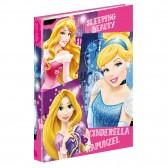 Classeur A4 Princesse Disney Stars  34 CM