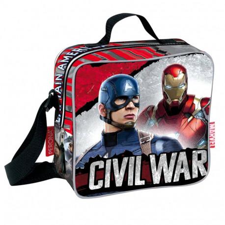 Sac goûter Captain America Civil War 21 CM