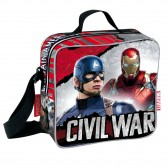 Backpack skateboard maternal Captain America Civil War 37 CM trolley - Binder