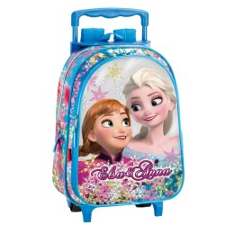 Sac à dos à roulettes Frozen La reine des neiges 37 CM  Soul trolley - Cartable