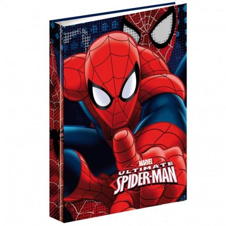Workbook A4 Spiderman Dark 34 CM