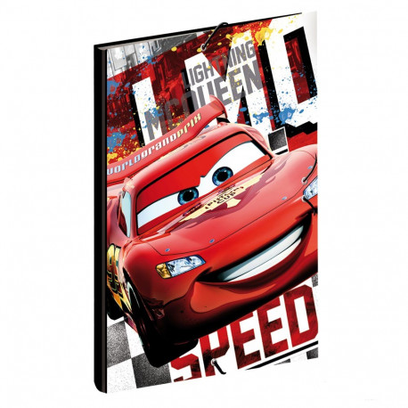 Workbook A4 Cars Disney Street 34 CM