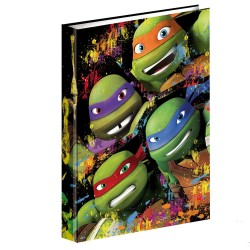 Workbook A4 turtle Ninja 34 CM