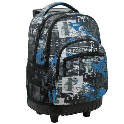 Backpack on wheels Post 45 cm high-end - 3 cpt - Binder