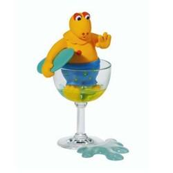 Figurine Tweety in his glass