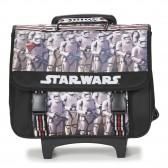 Cartable à roulettes Star Wars Trolley 41 CM Noir Haut de gamme