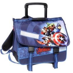 Cartable à roulettes 41 CM Avengers Shield Haut de gamme