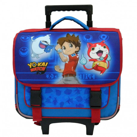 Cartable roulettes yo kai watch 38 cm trolley haut de gamme for Salle de bain yo kai watch 2