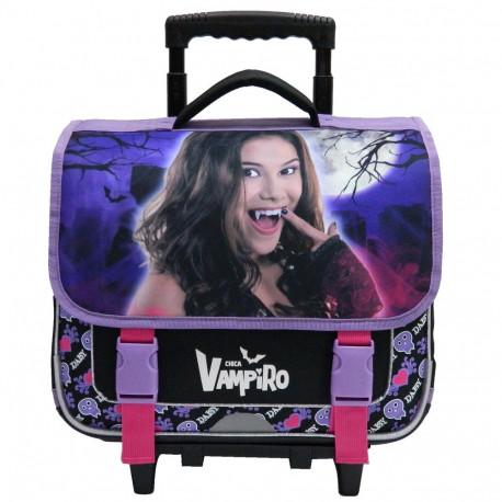 Cartable à roulettes Chica Vampiro 38 CM Haut de gamme