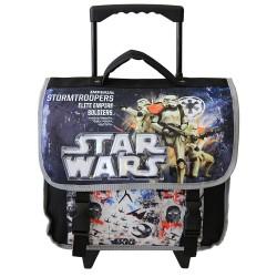 Cartable à roulettes Star Wars Trolley Imperial 38 CM Noir Haut de gamme