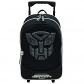 Sac à dos à roulettes Transformers Optimus 43 CM Trolley noir Haut de gamme - Cartable