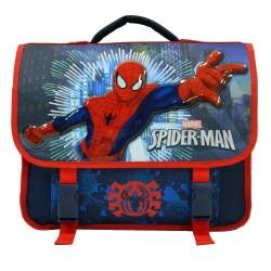 Cartable Spiderman bleu 38 CM