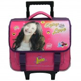 Cartable à roulettes Soy Luna 38 CM Rose