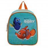 Bag has back maternal Winnie the Pooh 25 CM blue