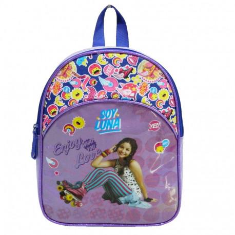 Sac à dos maternelle Soy Luna 32 CM Violet
