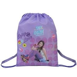 Bolsa de piscina Soy Luna 43 CM violeta