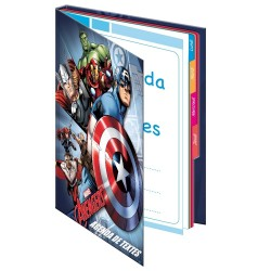 Agenda Avengers 21 CM - Cahier de texte