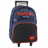 Redskins Factory black 45 CM high wheeled travelbag