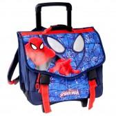 Cartable à roulettes Spiderman Eyes Trolley 41 CM Haut de gamme