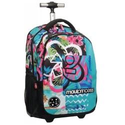 Rolling Backpack Maui & Sons Hawaiian 48 CM