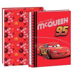 Agenda Cars Disney rouge 22 CM - Cahier de texte