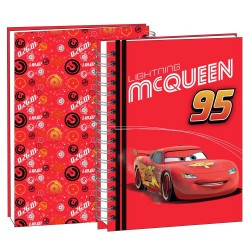 Coches Disney rojo 22 CM - calendario del libro de texto