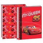 Agenda Cars rouge 22 CM - Cahier de texte