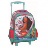 Sac à roulettes trolley maternelle Vaiana 31 CM - Cartable