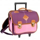 Backpack skateboard 41 CM Feather pink high-end - girl