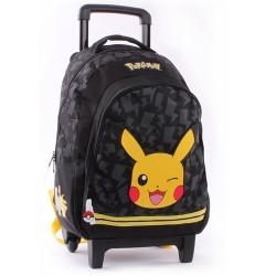 Sac à roulettes 45 CM Pokemon Stronger Haut de gamme Trolley - Cartable