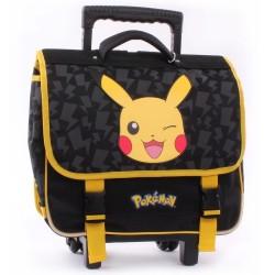 Cartable à roulettes 38 CM Pokemon Stronger Haut de gamme