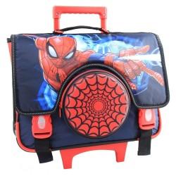 Cartable à roulettes Spiderman Trolley 38 CM Haut de gamme